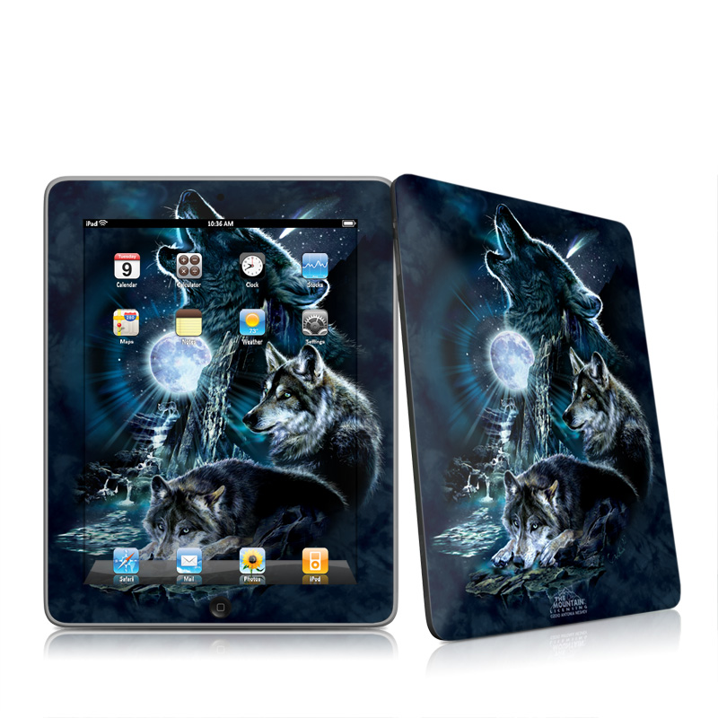 Howling Apple iPad 1st Gen Skin