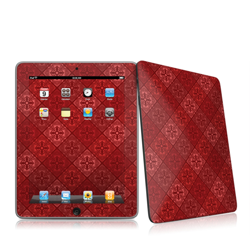 Humidor Apple iPad 1st Gen Skin