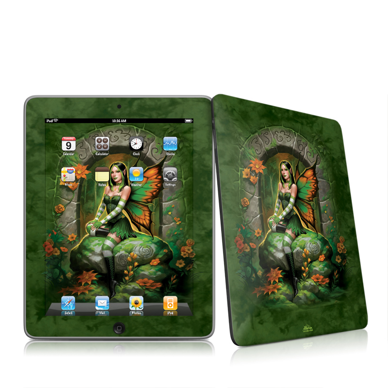 Jade Fairy Apple iPad 1st Gen Skin