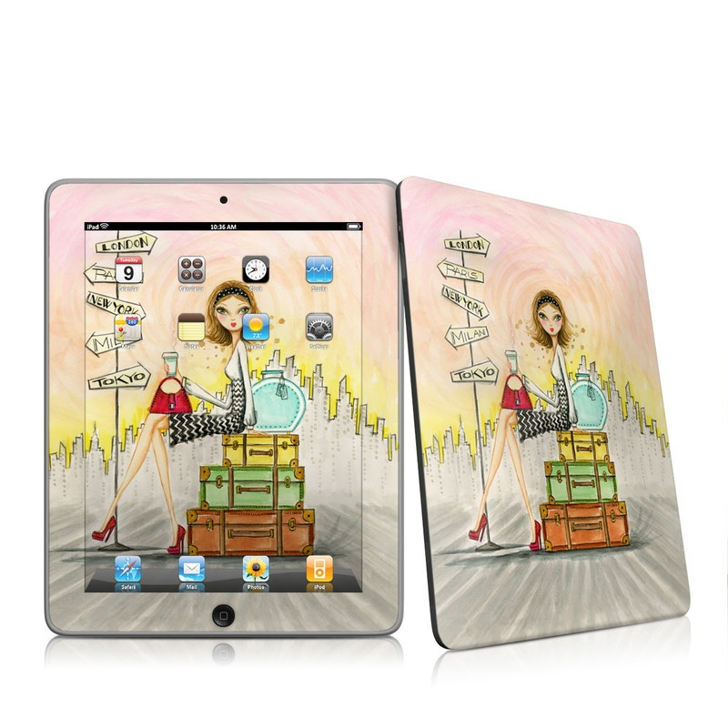 The Jet Setter iPad 1st Gen Skin