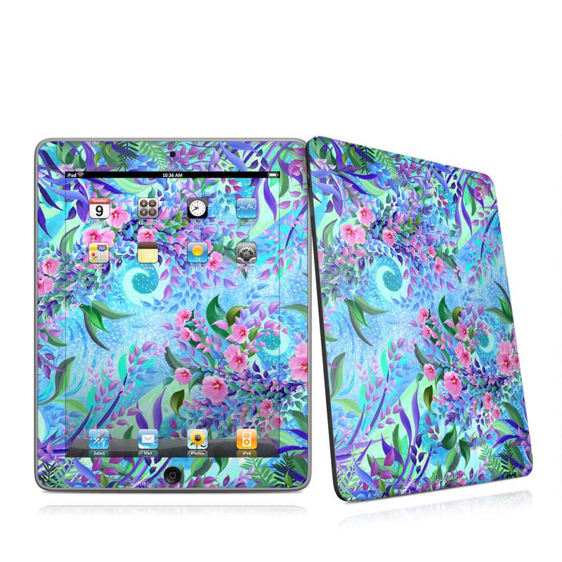 Lavender Flowers iPad 1st Gen Skin