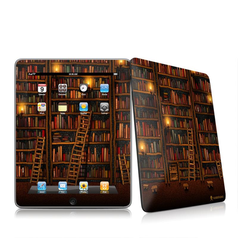Library iPad 1st Gen Skin