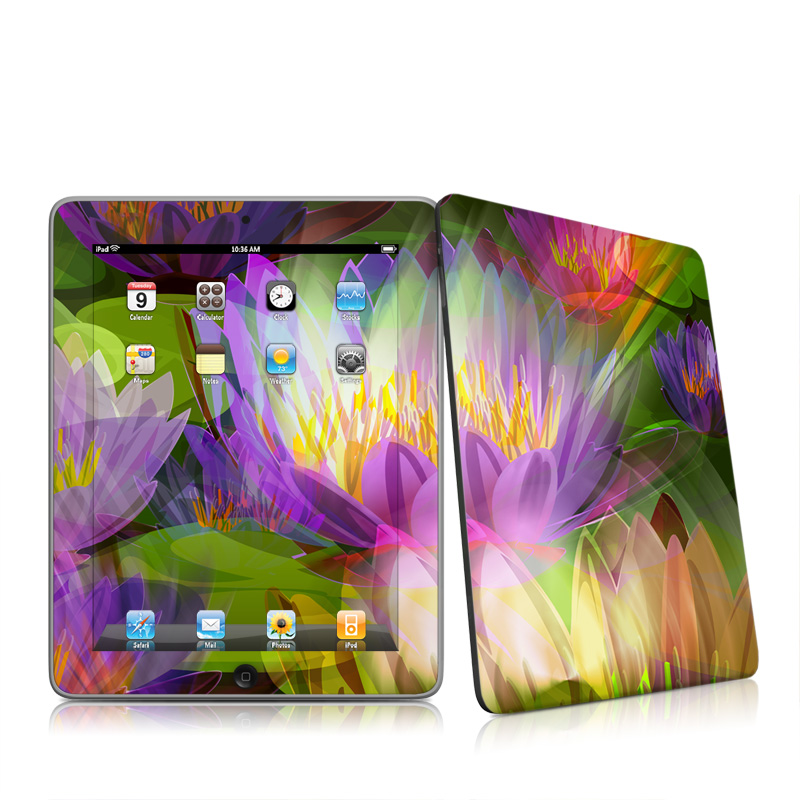 Lily Apple iPad 1st Gen Skin