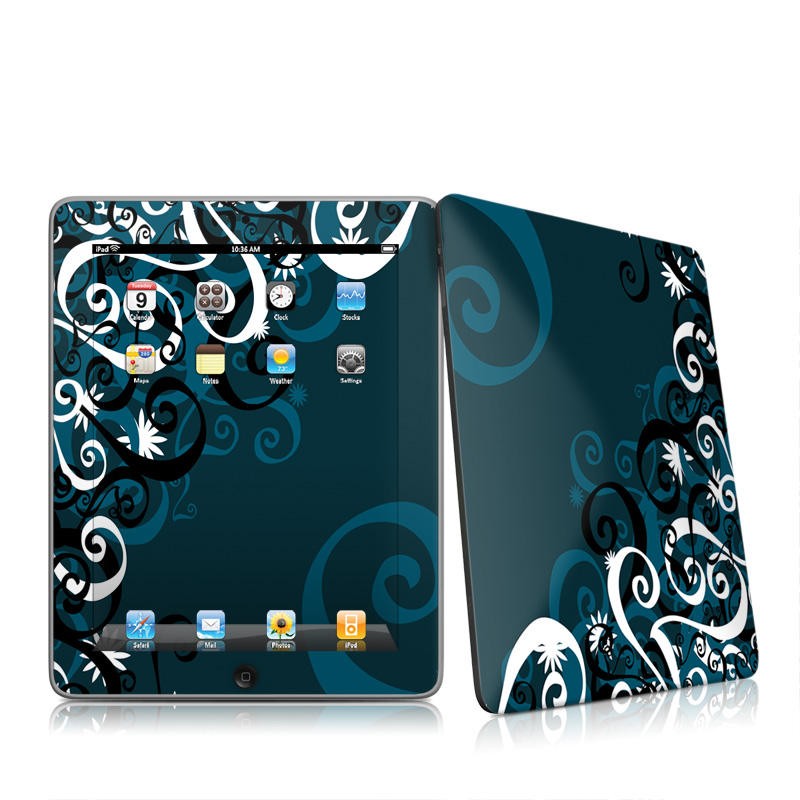Midnight Garden iPad 1st Gen Skin