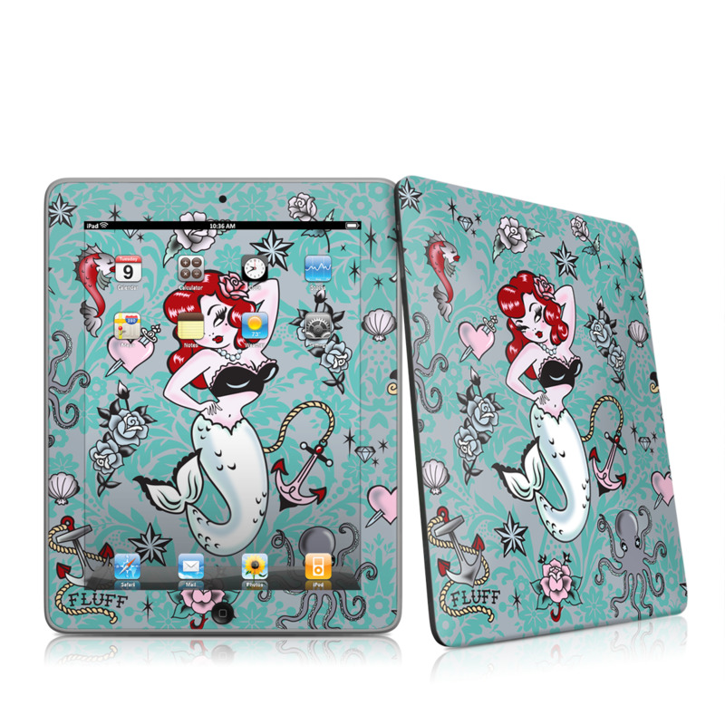 Molly Mermaid iPad 1st Gen Skin