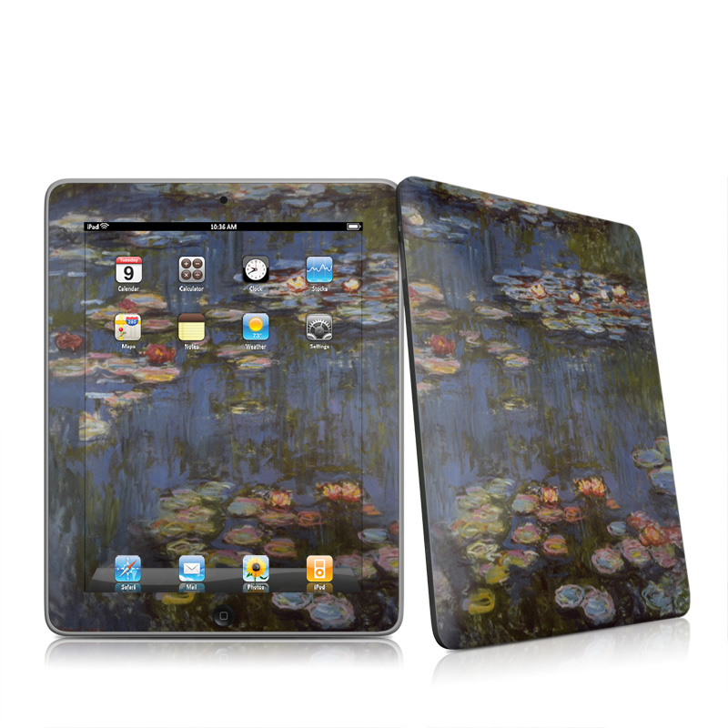 Water lilies Apple iPad 1st Gen Skin