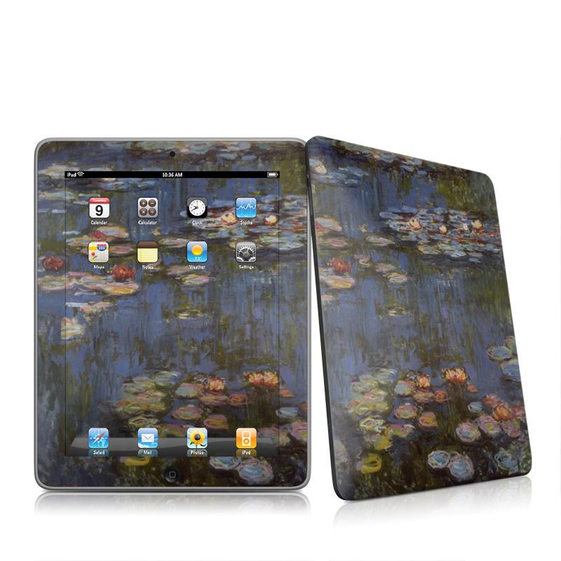 Water lilies Apple iPad 1st Gen Skin