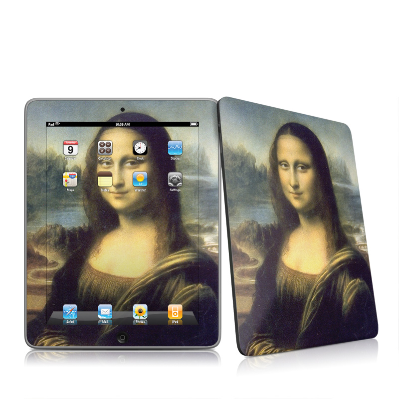 Mona Lisa Apple iPad 1st Gen Skin