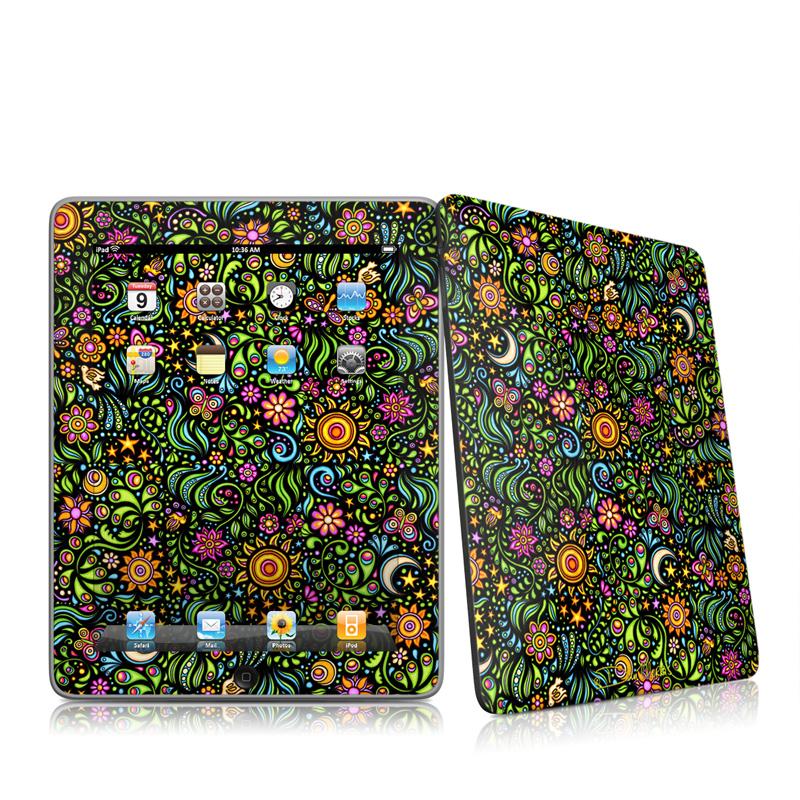 Nature Ditzy iPad 1st Gen Skin