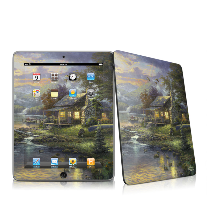 Natures Paradise Apple iPad 1st Gen Skin