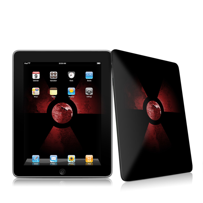 Nuclear Apple iPad 1st Gen Skin