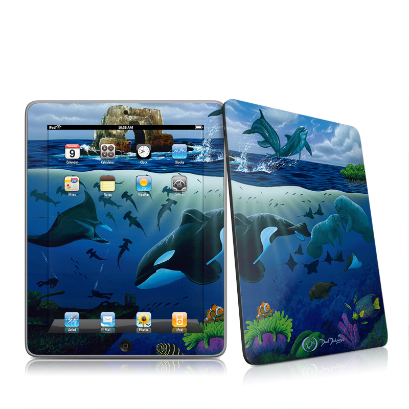 Oceans For Youth iPad 1st Gen Skin
