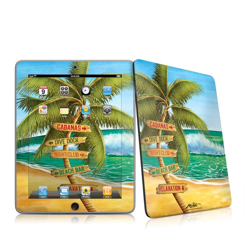Palm Signs iPad 1st Gen Skin