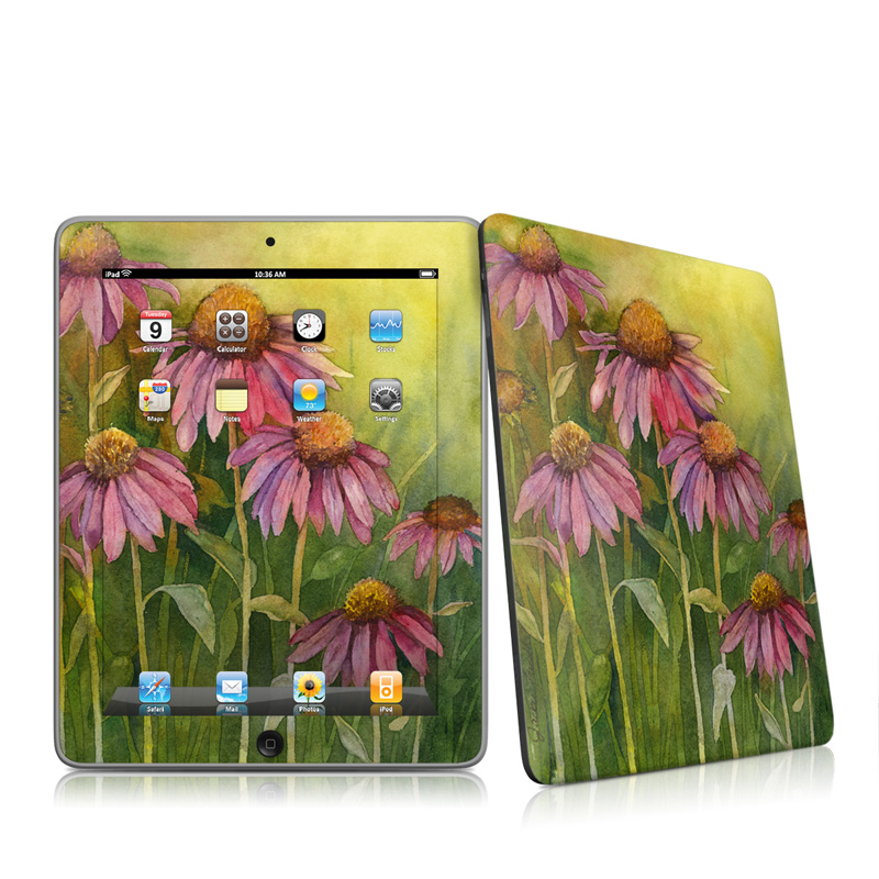 Prairie Coneflower Apple iPad 1st Gen Skin