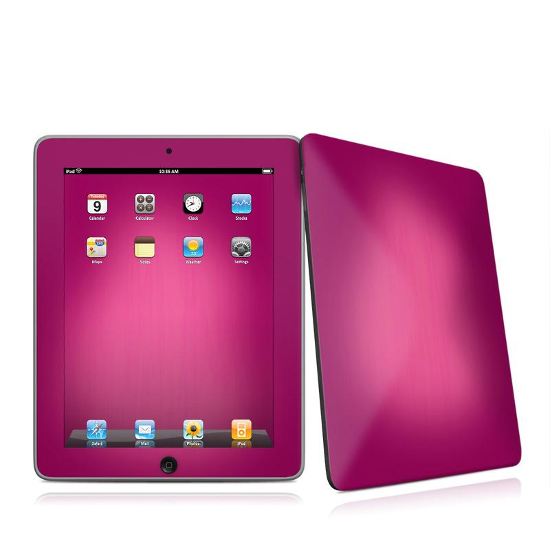Pink Burst iPad 1st Gen Skin