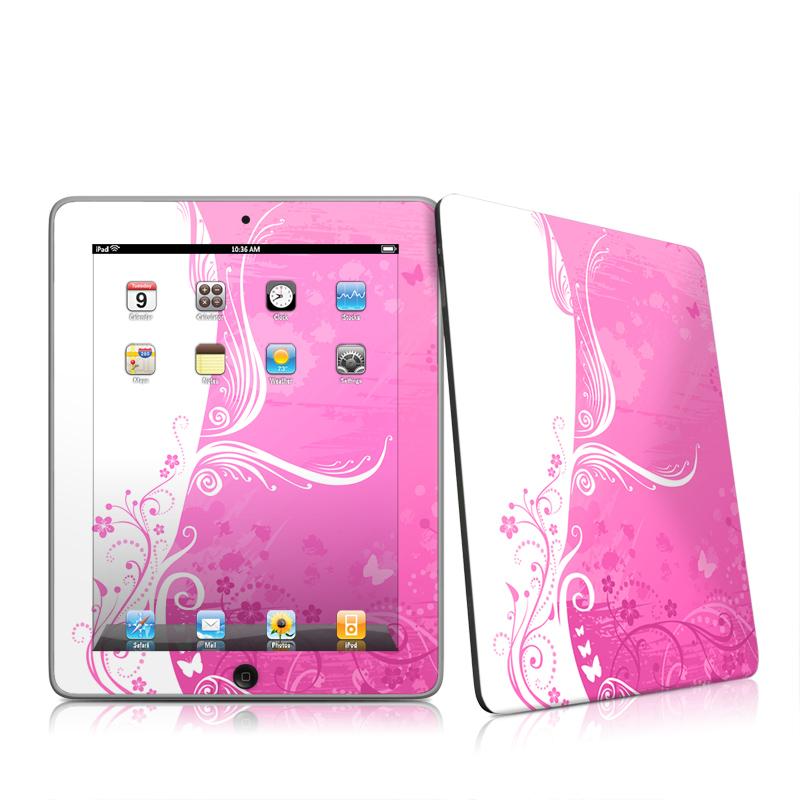 Pink Crush Apple iPad 1st Gen Skin