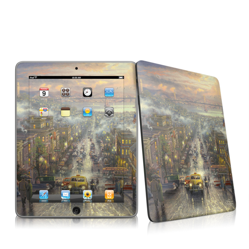 Heart of San Francisco Apple iPad 1st Gen Skin