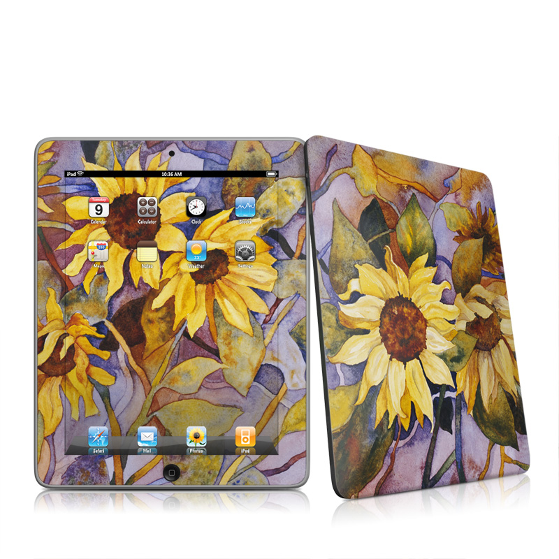 Sunflower iPad 1st Gen Skin