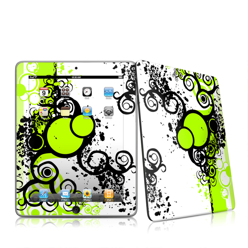 Simply Green Apple iPad 1st Gen Skin