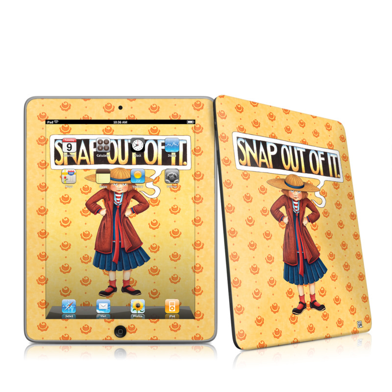 Snap Out Of It iPad 1st Gen Skin