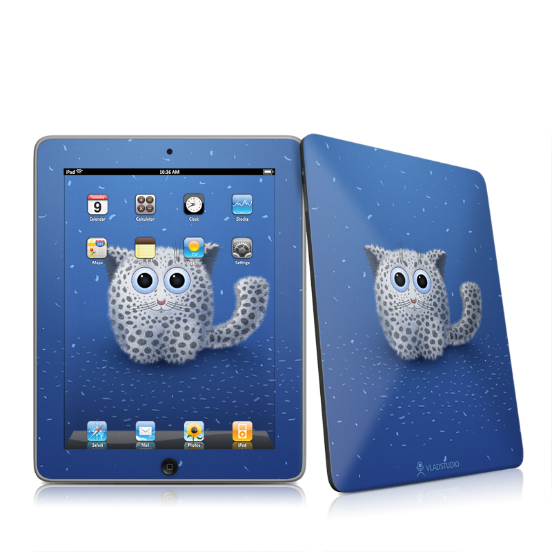 Snow Leopard Apple iPad 1st Gen Skin
