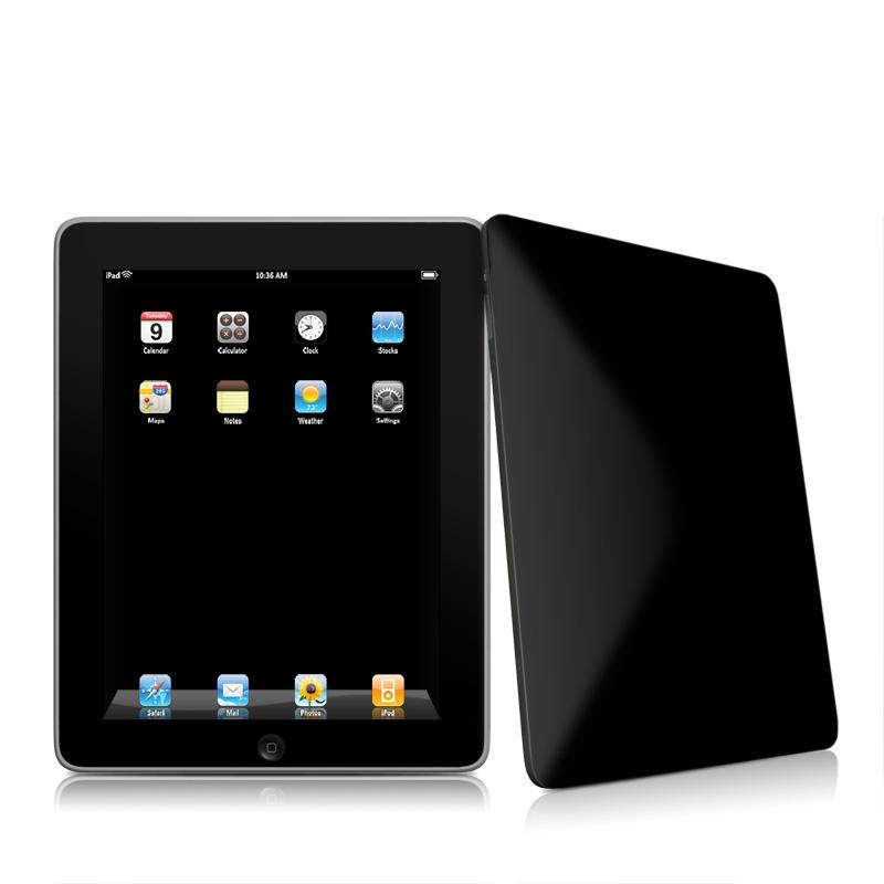 Solid State Black iPad 1st Gen Skin