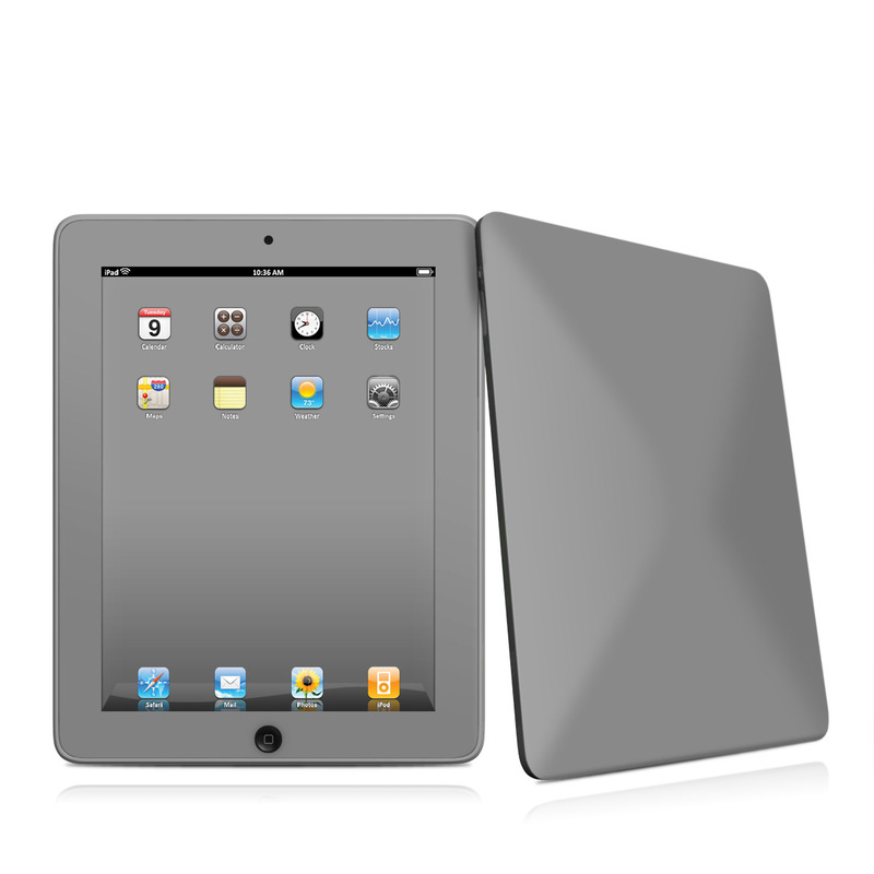 Solid State Grey iPad 1st Gen Skin