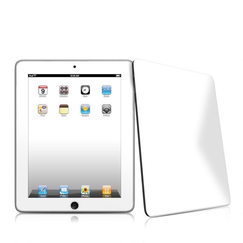 Solid State White Apple iPad 1st Gen Skin