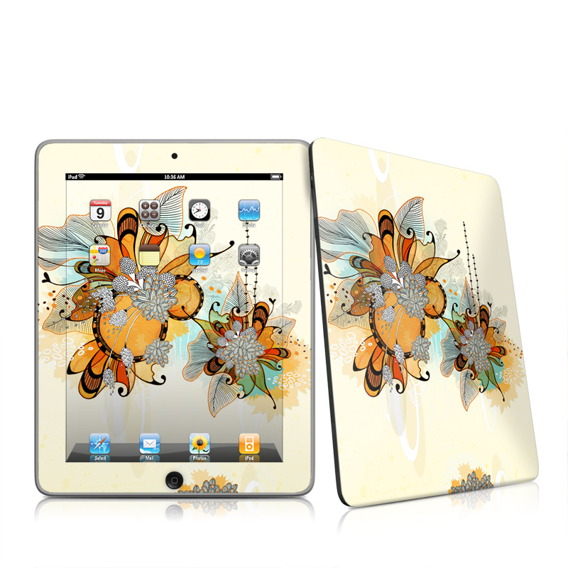Sunset Flowers iPad 1st Gen Skin