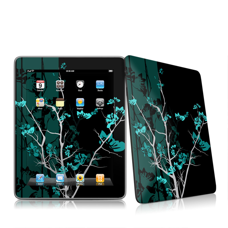 Aqua Tranquility iPad 1st Gen Skin