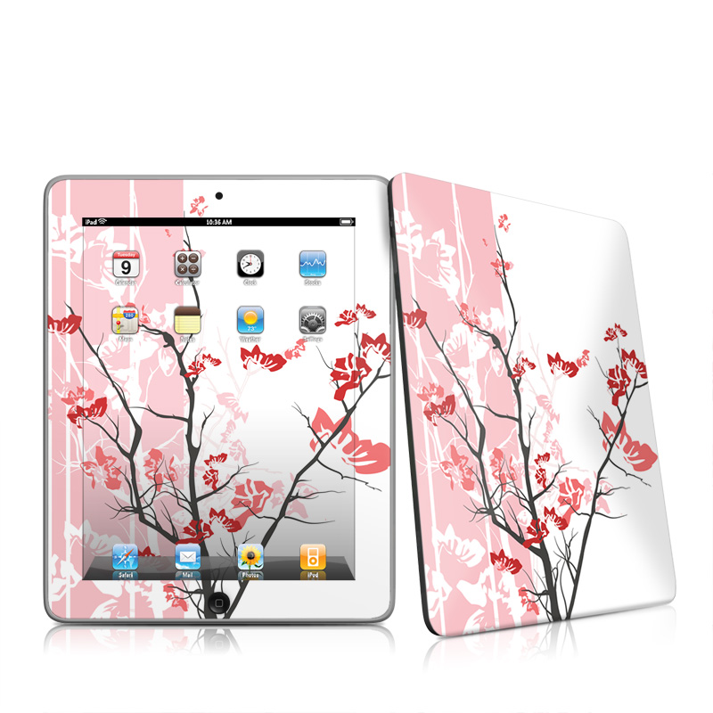 Pink Tranquility Apple iPad 1st Gen Skin