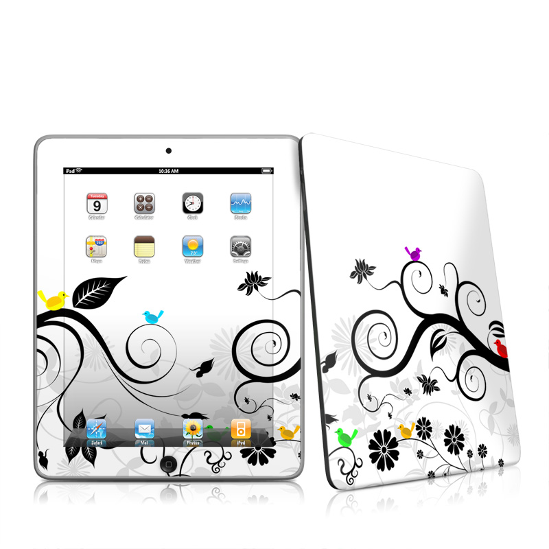 Tweet Light iPad 1st Gen Skin