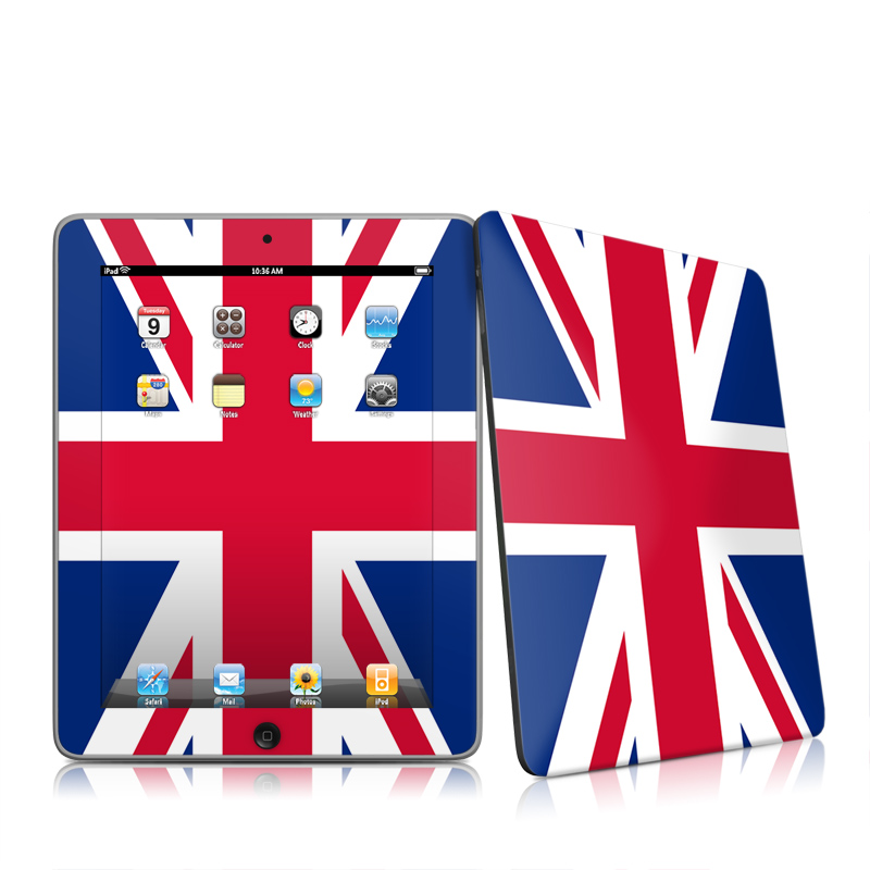 Union Jack iPad 1st Gen Skin