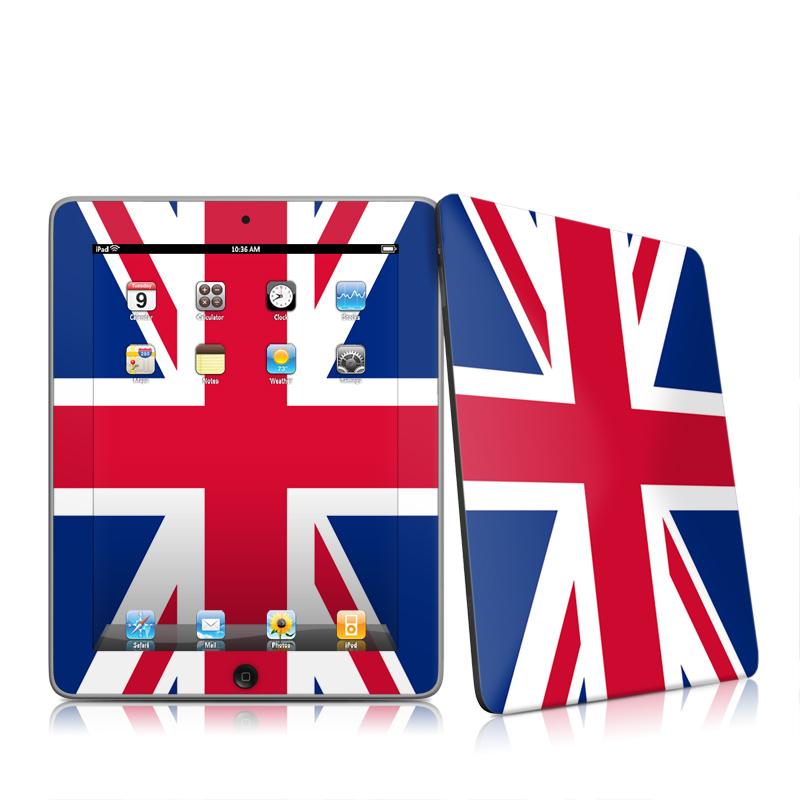 Union Jack Apple iPad 1st Gen Skin