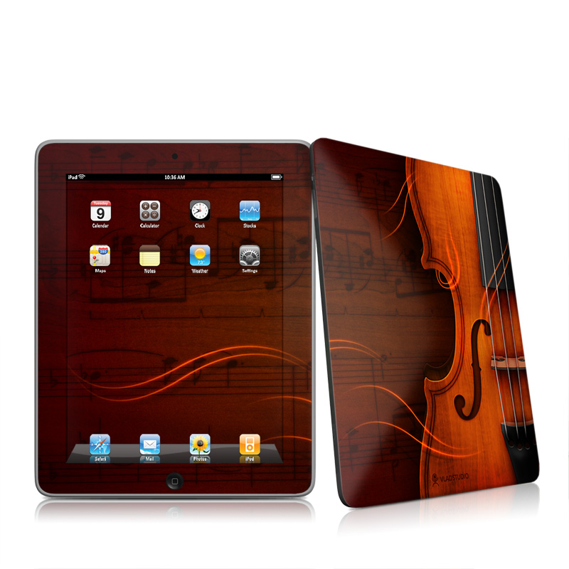 Violin Apple iPad 1st Gen Skin