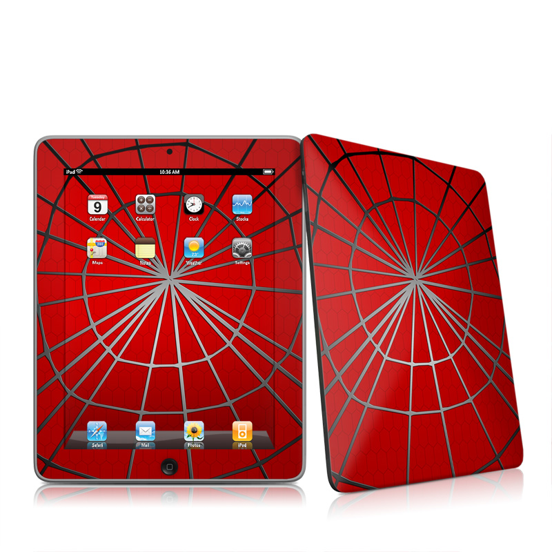 Webslinger Apple iPad 1st Gen Skin