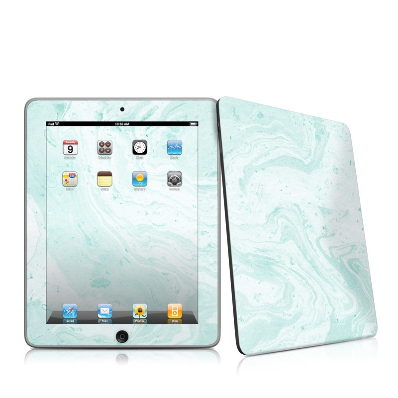 Winter Green Marble iPad 1st Gen Skin