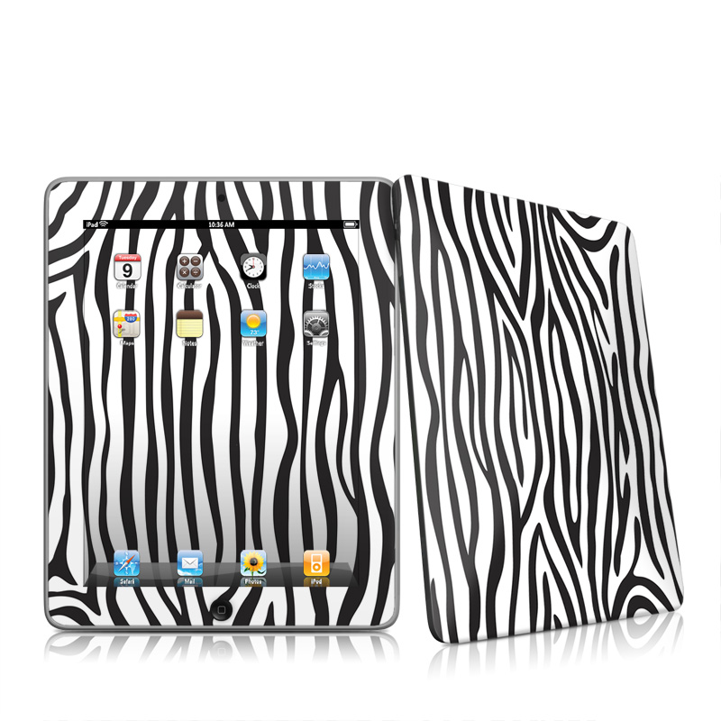 Zebra Stripes Apple iPad 1st Gen Skin