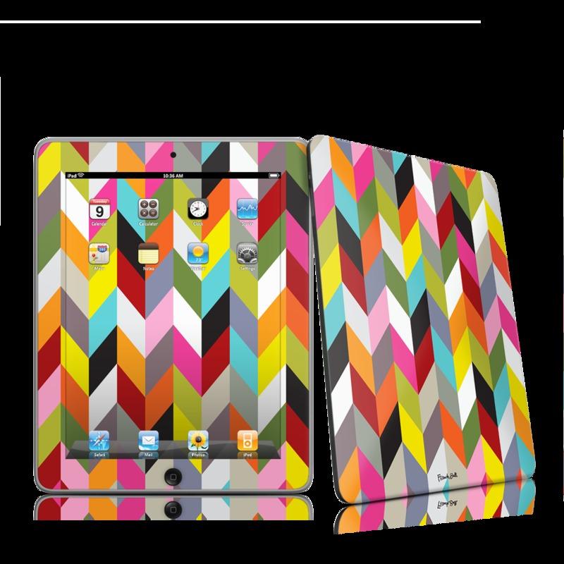 Ziggy Condensed iPad 1st Gen Skin