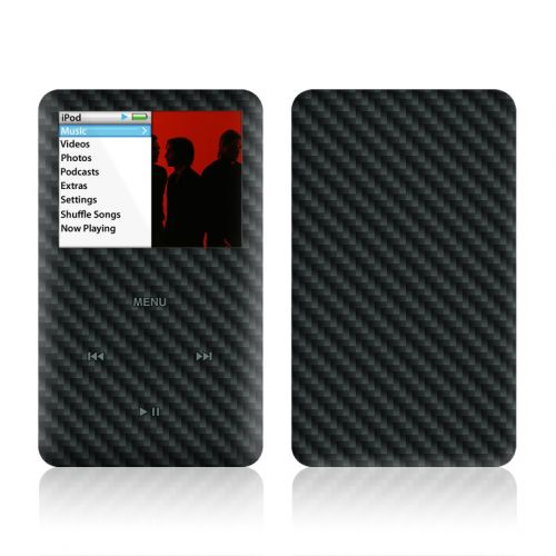 Carbon iPod classic Skin