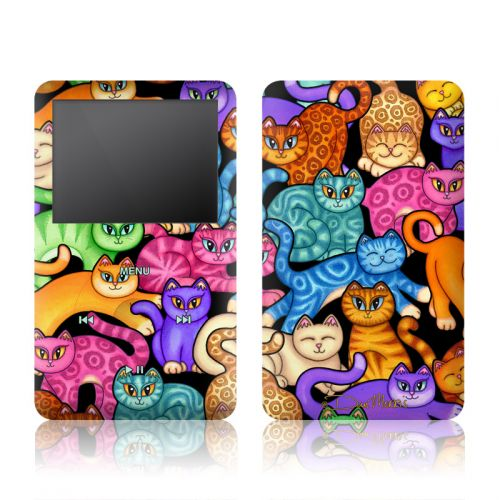 Colorful Kittens iPod classic Skin