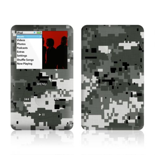 Digital Urban Camo iPod classic Skin
