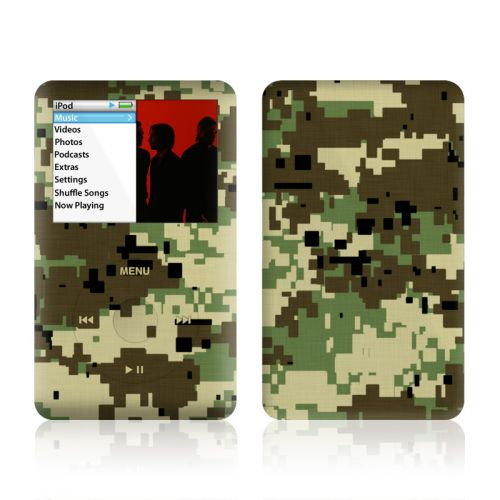 Digital Woodland Camo iPod classic Skin