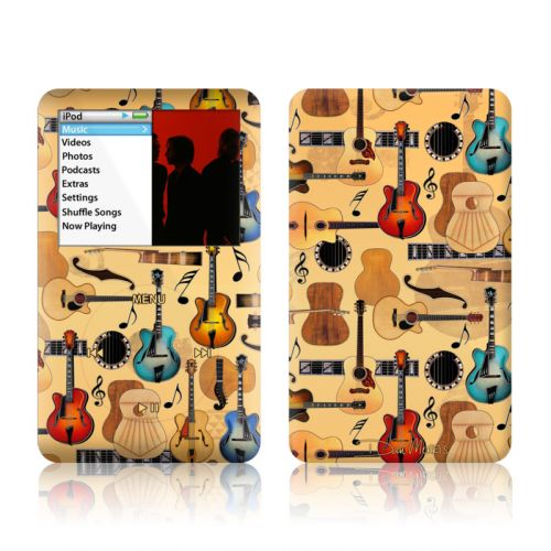 Guitar Collage iPod classic Skin