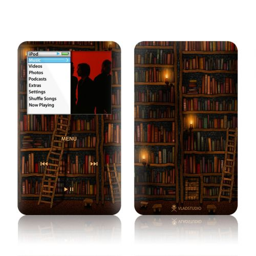 Library iPod classic Skin