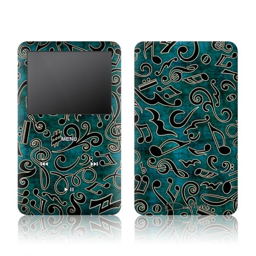 Music Notes iPod classic Skin