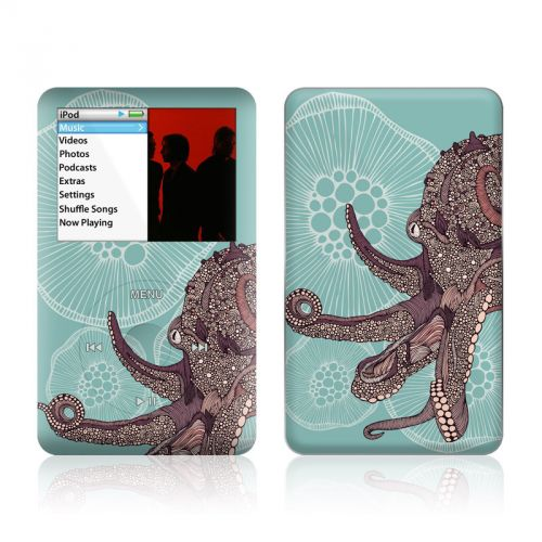 Octopus Bloom iPod classic Skin
