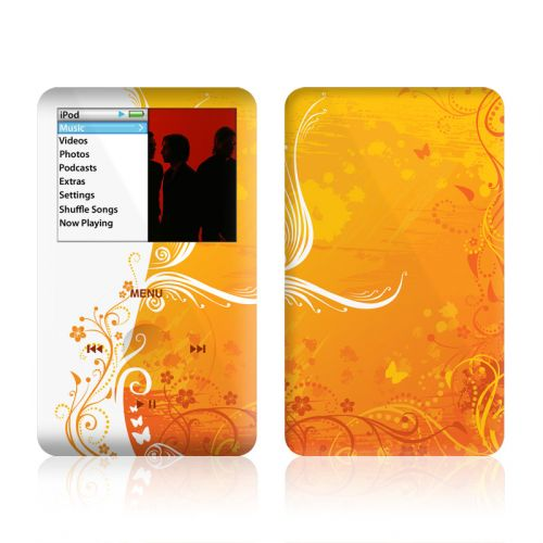 Orange Crush iPod classic Skin