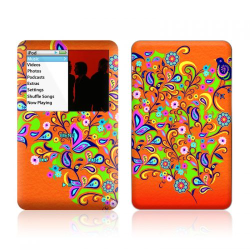 Orange Squirt iPod classic Skin