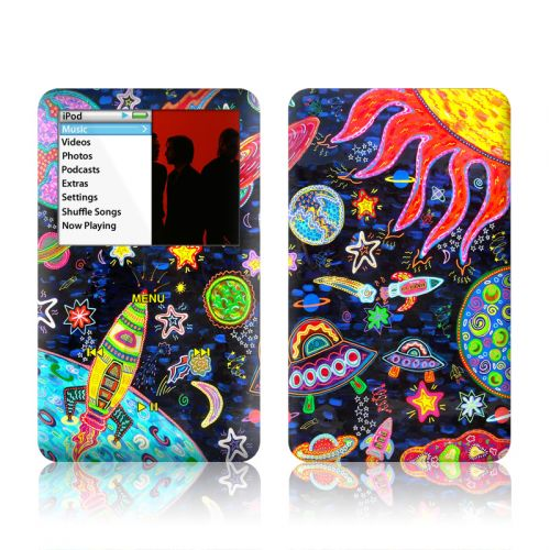 Out to Space iPod classic Skin